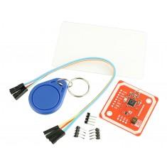 Kit Leitor RFID NFC + Tags RFID (Chaveiro + Cartão) para Arduino - PN532