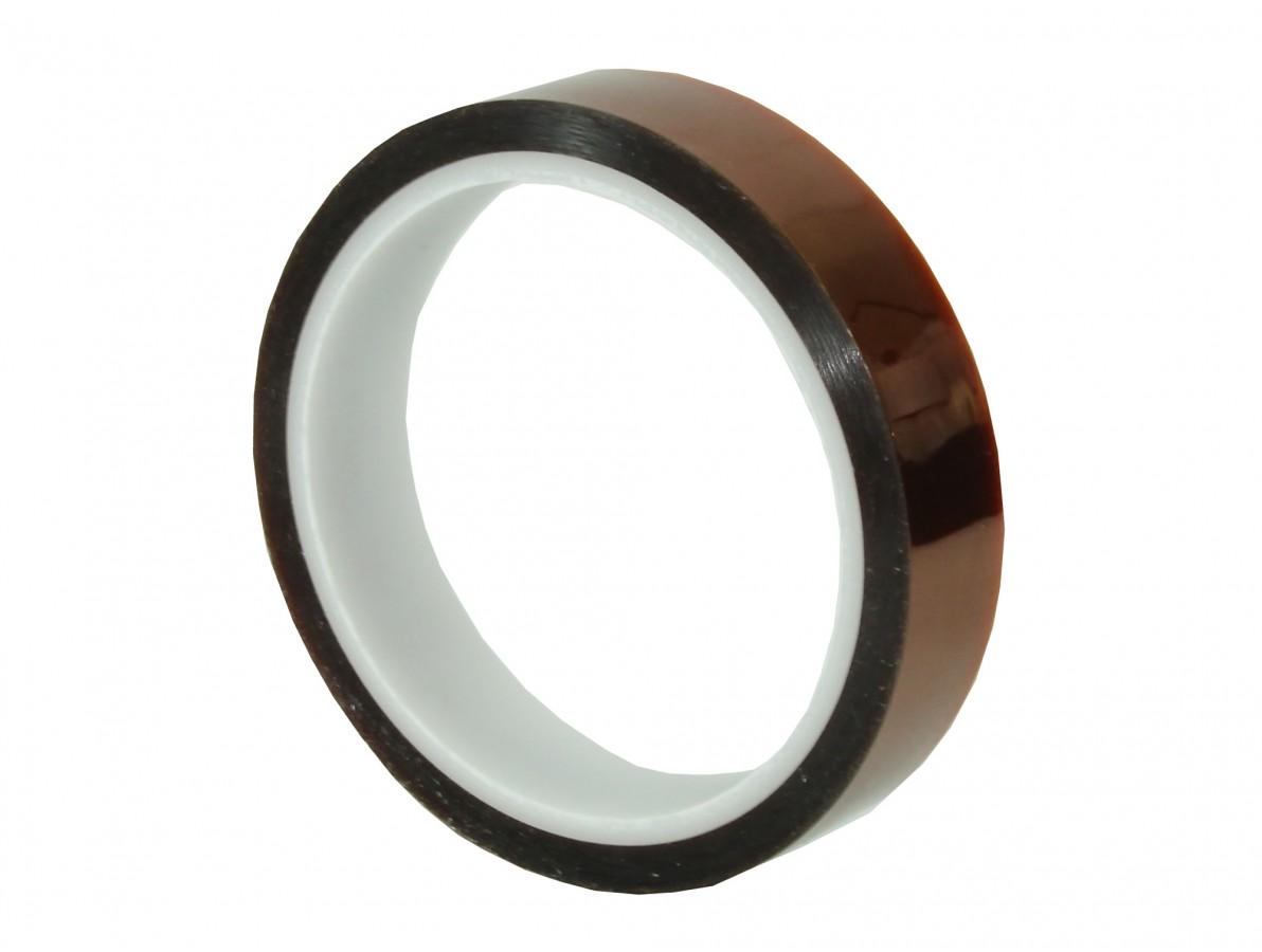 Fita kapton de poliamida resistente a altas temperaturas - 33m x 20mm