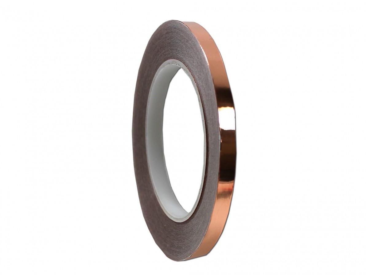 Fita de cobre para blindagem e proteção de equipamentos - 9mm x 30m