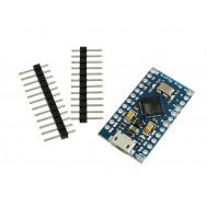 Placa Pro Micro ATmega32U4 Arduino Compatível