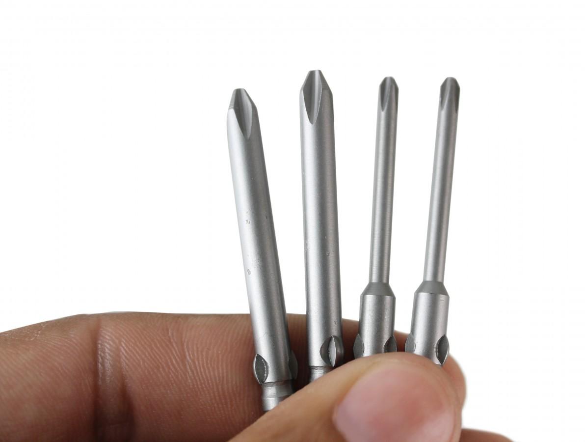 Bits para Parafusadeira DN4CA / DN4CB - Philips 3mm e 5mm - Kit com 4 unidades