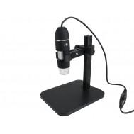 Microscópio Digital USB 2.0MP 1000X US1000 + Suporte Ajustável - Distância Focal 0 a 50mm