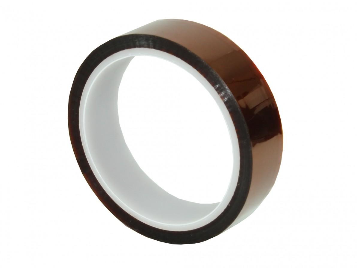 Fita kapton de poliamida resistente a altas temperaturas - 33m x 25mm