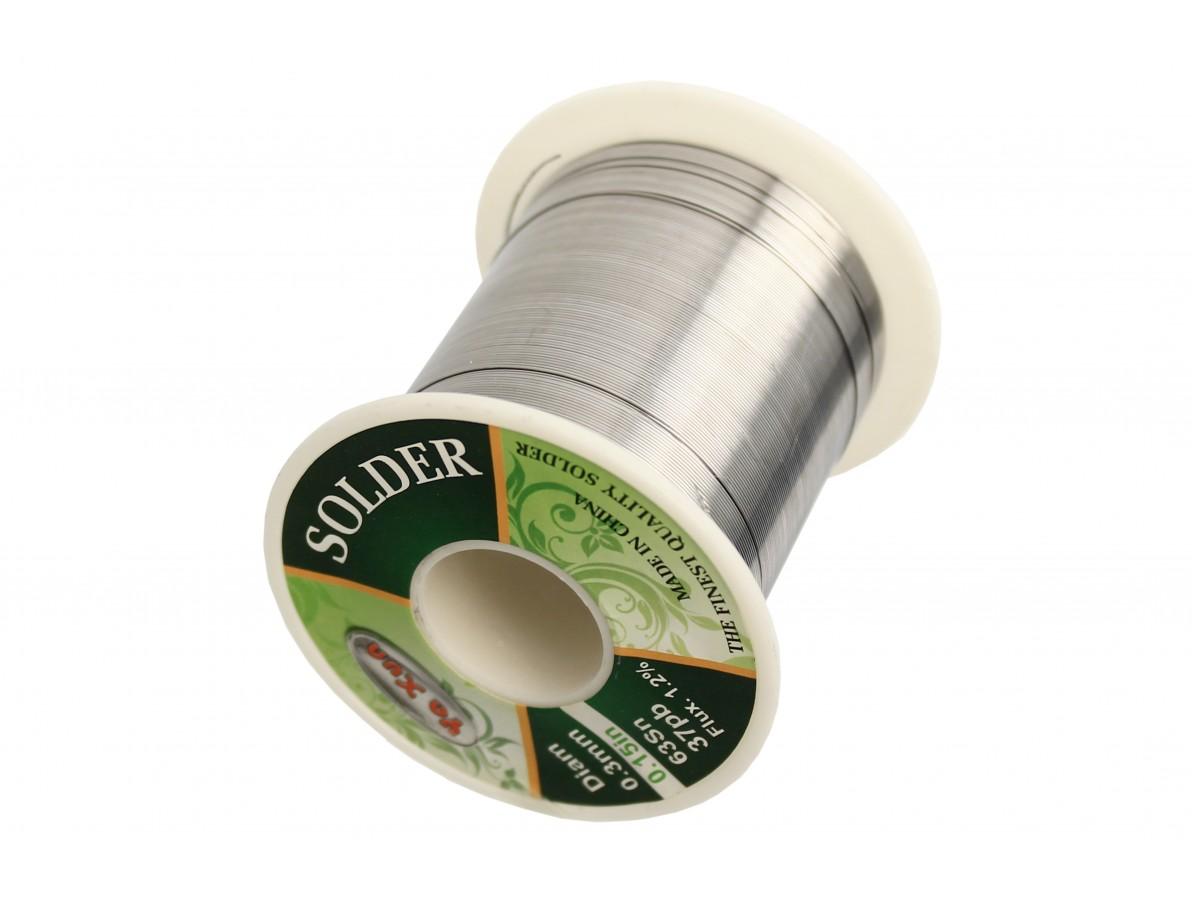 Estanho para solda / Fio de solda 0.3mm super fino - Rolo de 120g - Yaxun