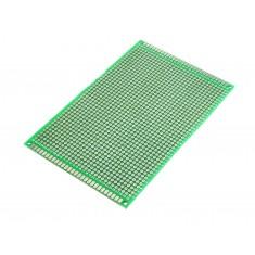 Placa de Circuito Impresso Ilhada 1260 Furos Dupla Face - 8x12cm