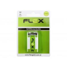 Bateria 9V Alcalina Flex