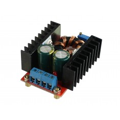Regulador de Tensão Ajustável / Conversor Dc Step Up (para mais) - 12V a 35V (10A 100W)