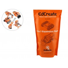 EdCreate Kit Robótico para o Robô Edison 115 Blocos - 5 em 1