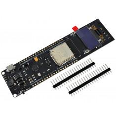 TTGO ESP32 OLED NodeMCU com WiFi, Bluetooth, Suporte para Bateria 18650 e Gerenciador de Carga