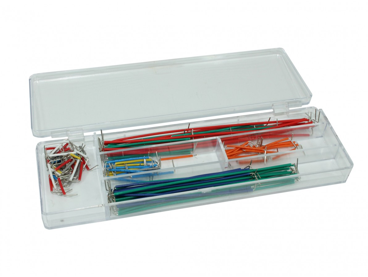 Jumpers para Protoboard - Kit com 140 conectores