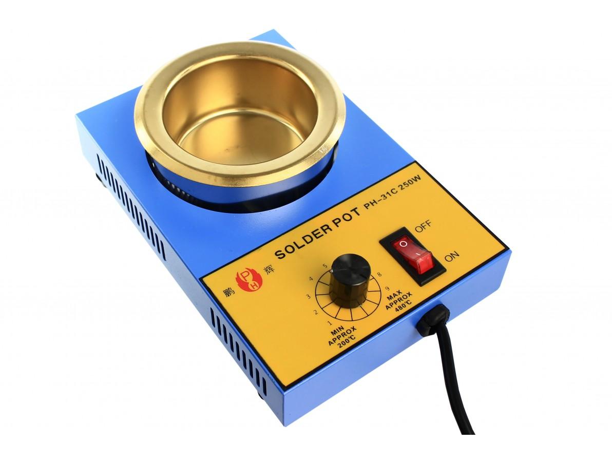 Cadinho de solda para aquecimento 250W / 200mL - PH 31C