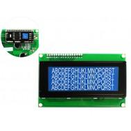 Display LCD 20x4 I2C com Fundo Azul
