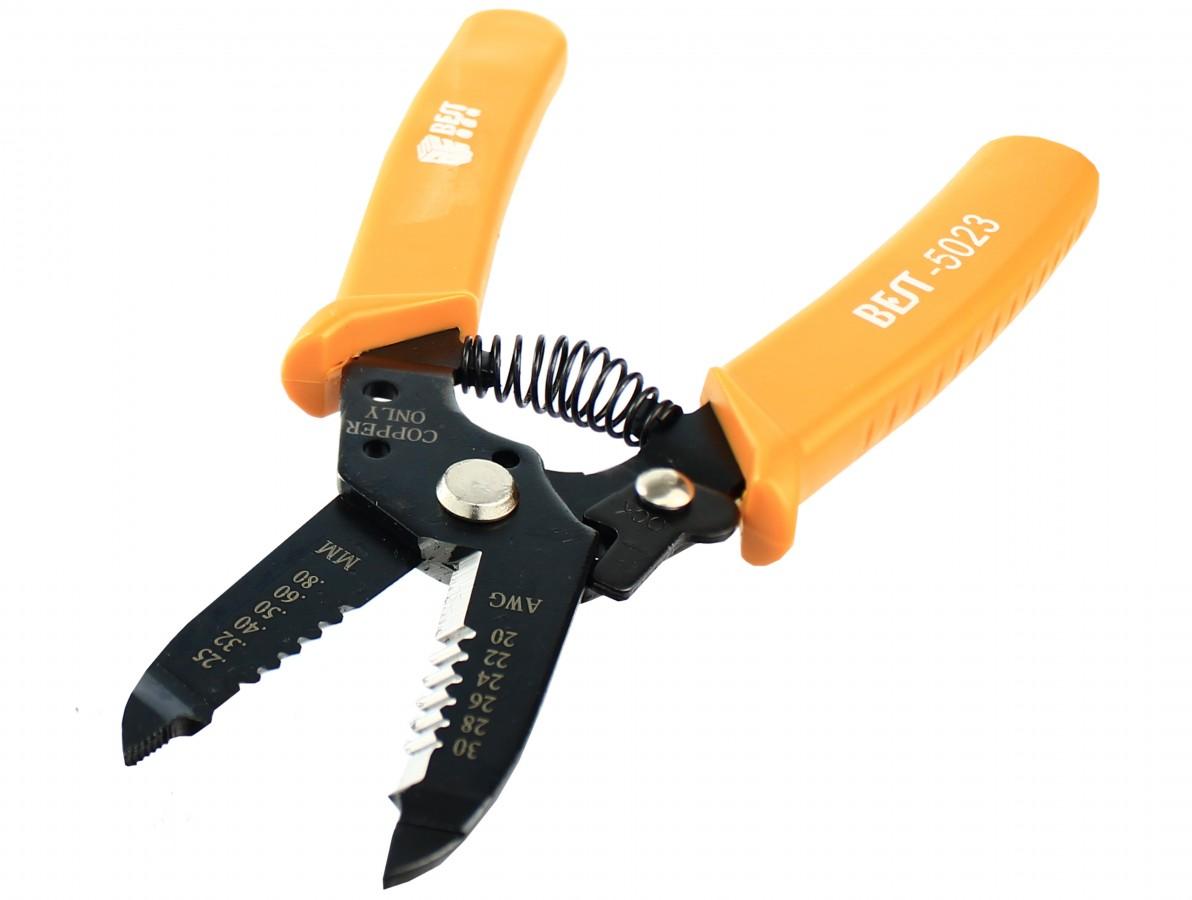Alicate decapador de fios e cabos com lâmina de corte - Best 5023
