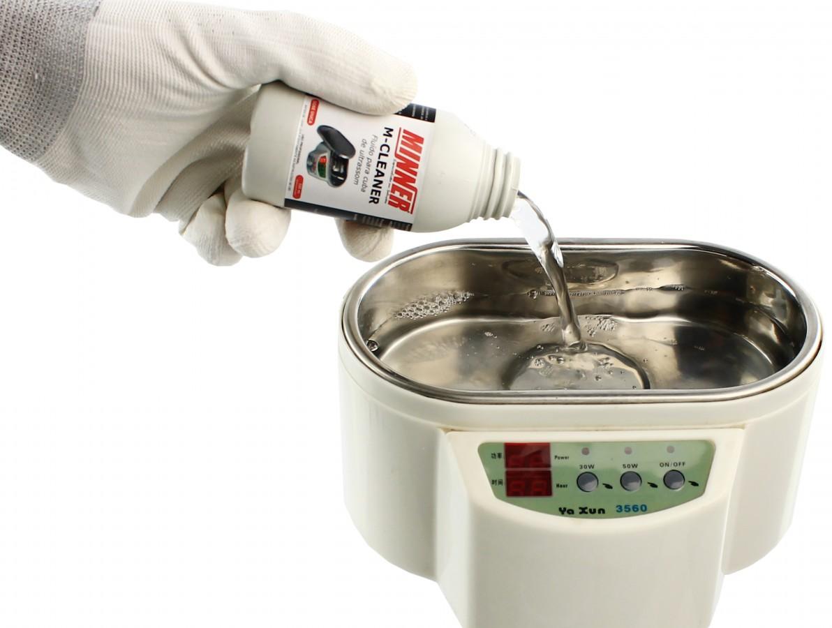 M-Cleaner / Solução Química Concentrada para Cuba de Ultrassom - Rende 1L