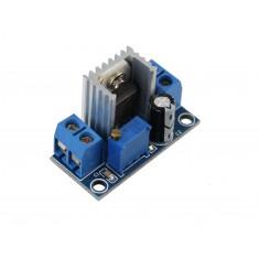 Regulador de Tensão Ajustável LM317T DC Conversor Step Down (Para Menos) - 1,2V a 37V