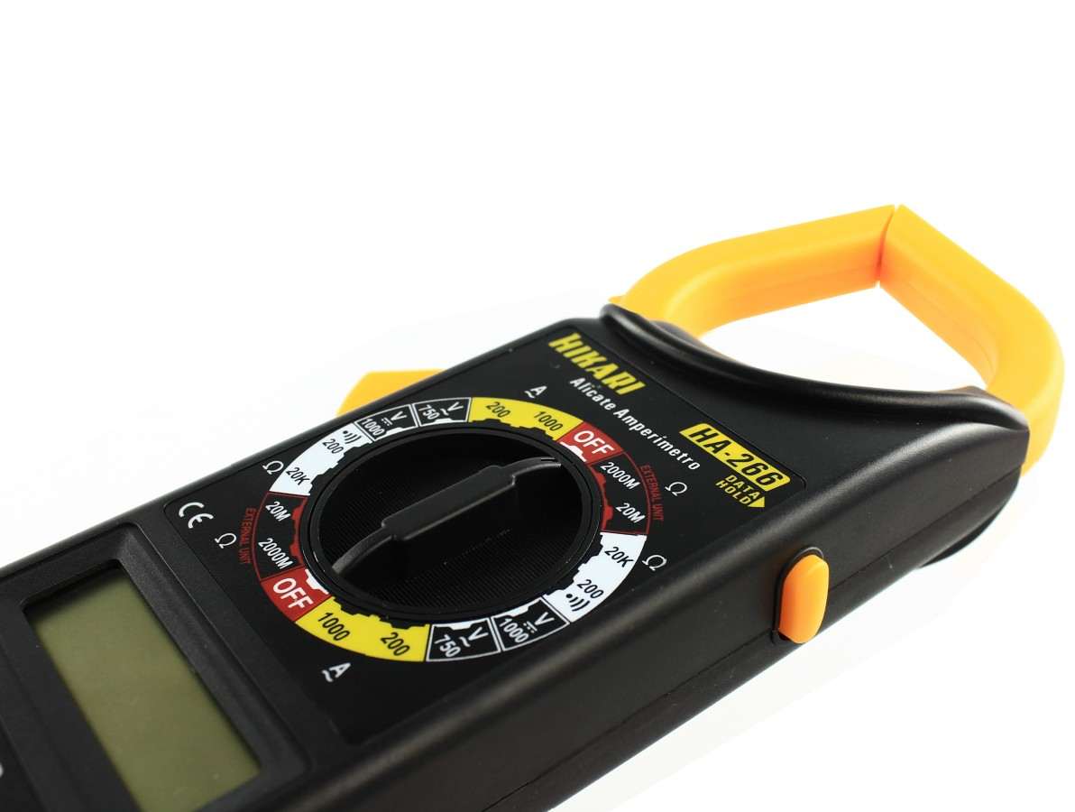 Alicate amperímetro digital Hikari - HA A266
