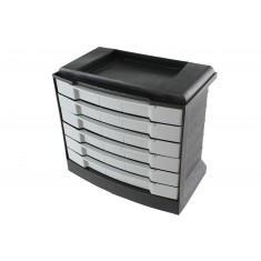 Gaveteiro de Plástico / Organizador 7010 com 06 Gavetas