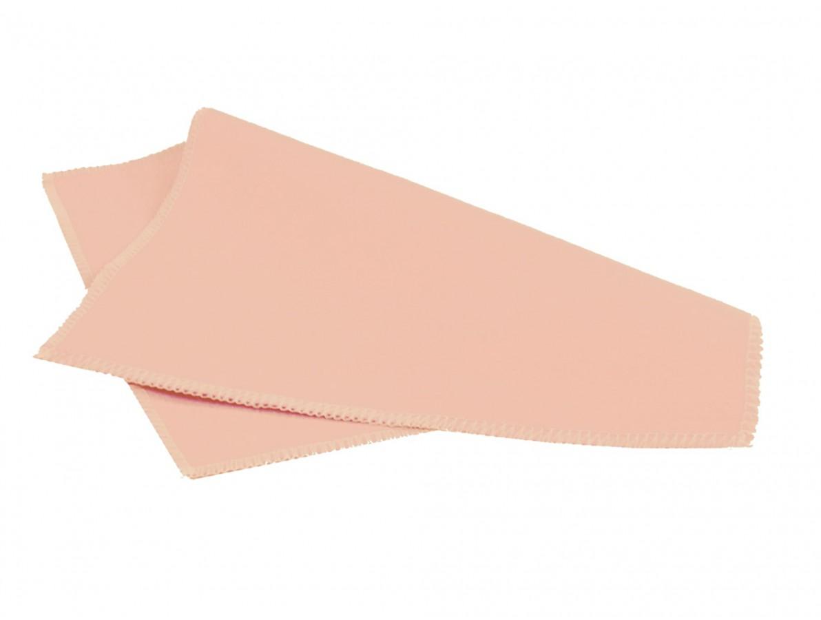 Pano / Flanela de Microfibra Aveludada para Limpeza e Polimento - Kit com 5