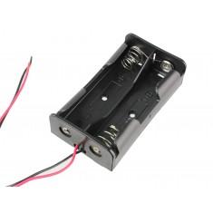 Suporte para Bateria 18650 Li-ion - 2 Slots