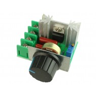 Dimmer 2000W / Regulador De Tensão Elétrica SCR 50-220VAC