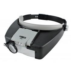 Lupa de Cabeça com Iluminação MG81007A - Aumento 1.5D 3D 8.5D 10D