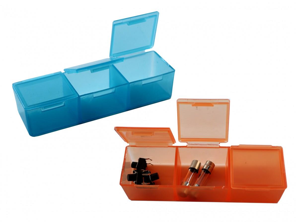 Caixa Organizadora / Porta Objetos com 21 divisórias coloridas