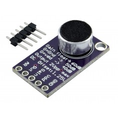 Módulo Microfone Eletreto Max9814 Amplificador com Controle Automático de Ganho
