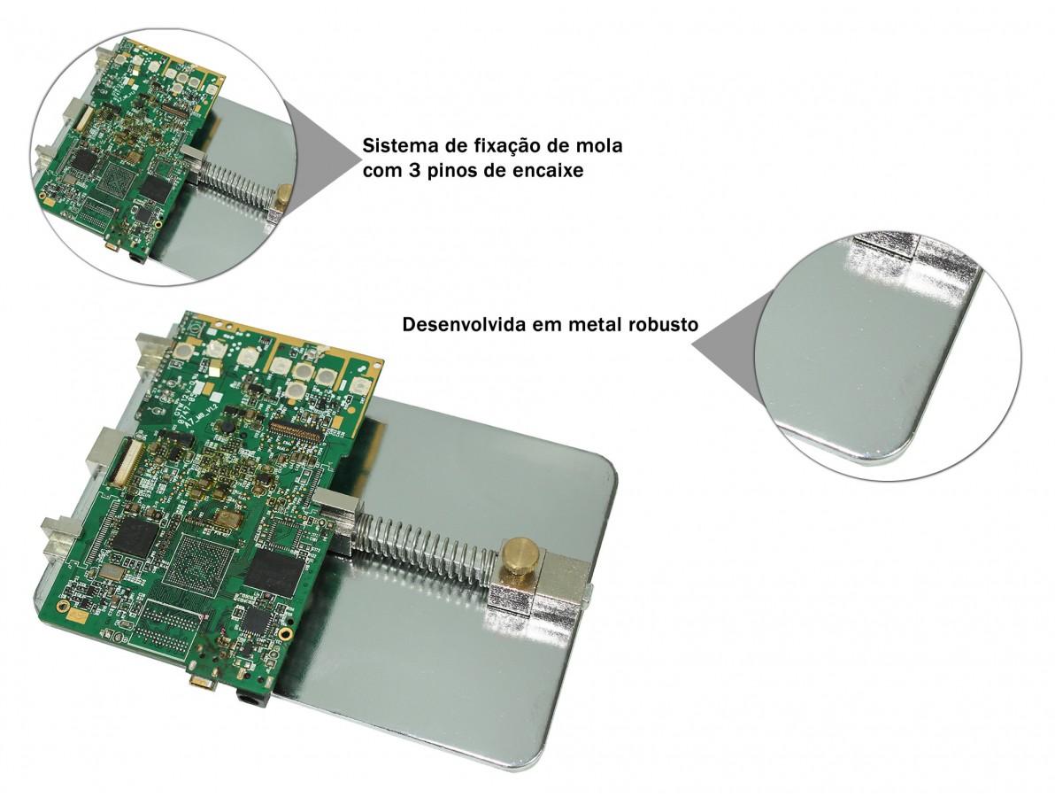 Base Suporte para Fixação de Placas de Circuito Impresso