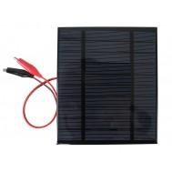 Mini Painel Solar Fotovoltaico 5V 500mA - 130x150mm