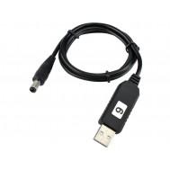 Cabo USB P4 com Regulador de Tensão 5V para 9V DC Step Up - RT59