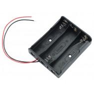 Suporte para Bateria 18650 Li-ion - 3 Slots