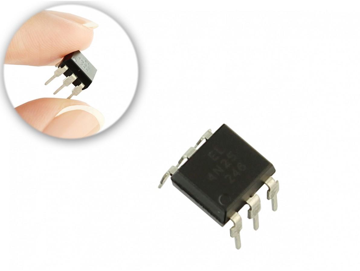 Optoacoplador 4N25 para projetos