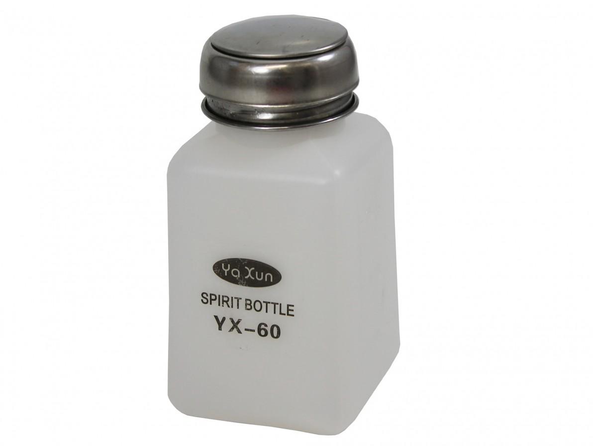 Dispenser / Pote para Álcool Isopropílico, Fluxo e Líquidos - 180ml - YX60