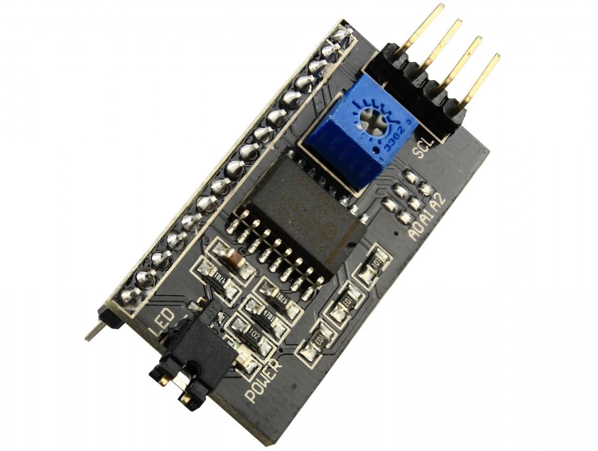 PLACA DE ADAPTAÇÃO IIC / I2C / INTERFACE LCD1602