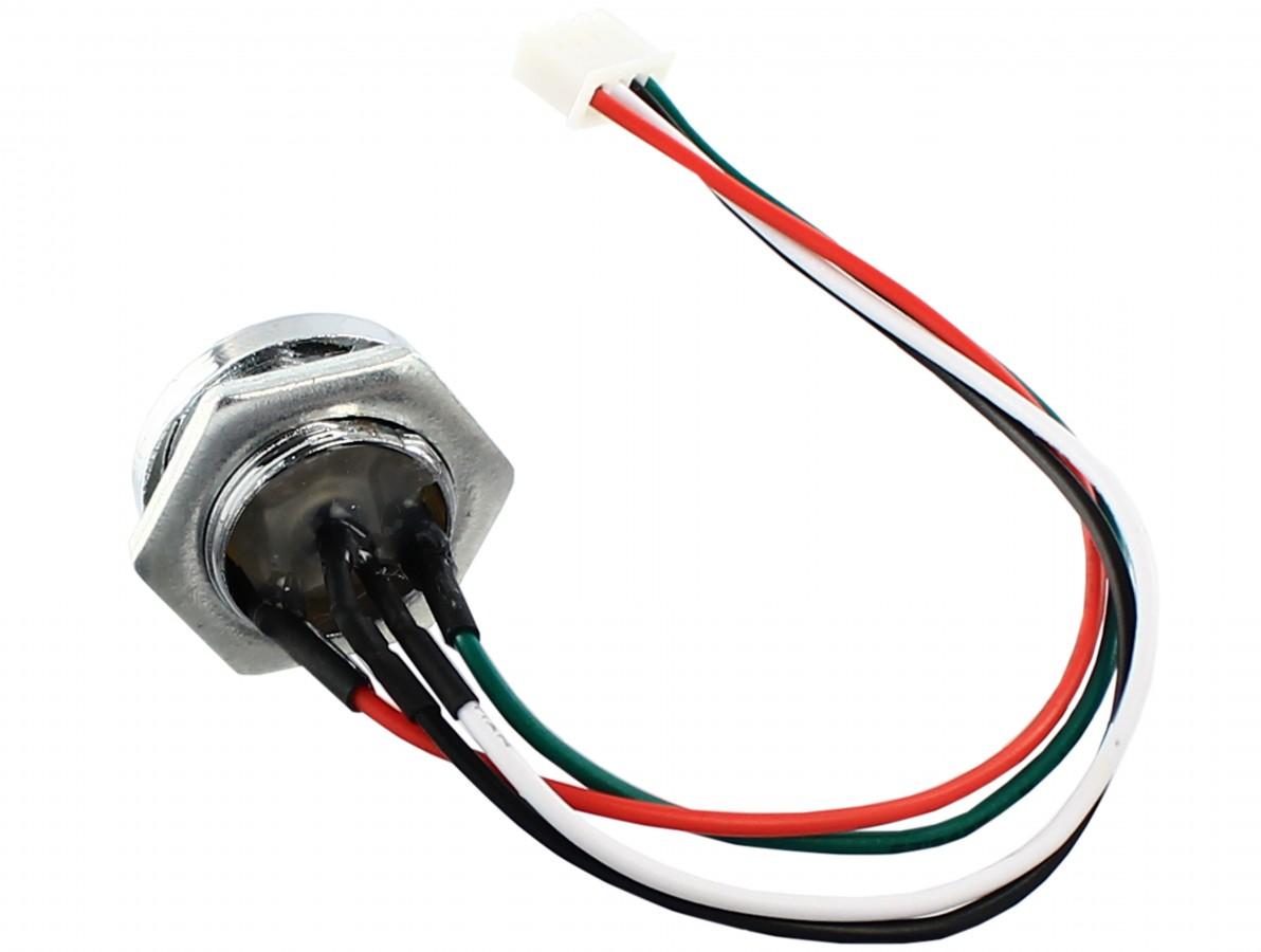 Leitor iButton com LED para controle de acesso - DS9092