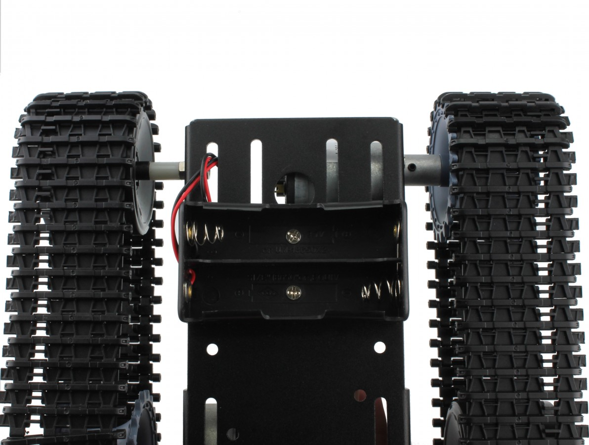 Carrinho Arduino Hector / Tanque tipo Lagarta 2WD com motores - Kit Chassi