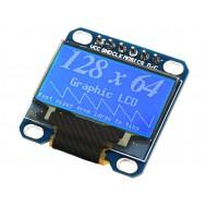 "Display OLED 0.96"" SPI 128x64 para Arduino"