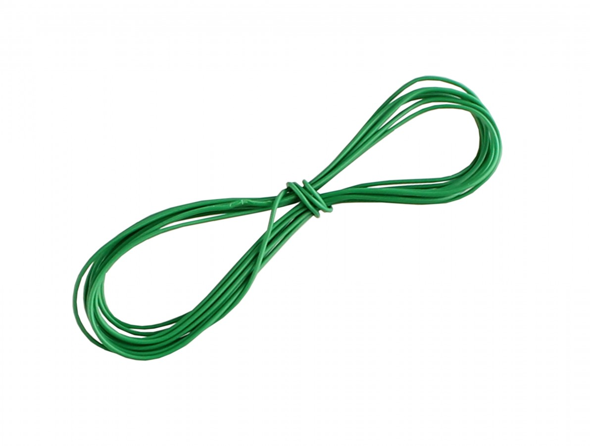 Fio Wire Wrap 30AWG Verde - Venda por Metro