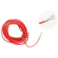 Cabo Flexível TiaFlex 5m Fio 0,50mm² - Vermelho