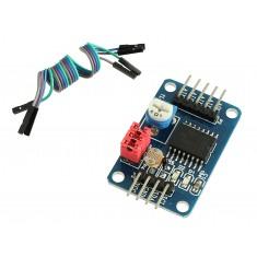 Expansor Conversor AD / DA PCF8591 com Sensor de Luz e Temperatura + Jumpers