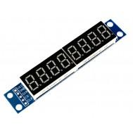 Módulo Display LED 8 Dígitos com Interface Controle SPI - MAX7219