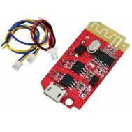 Mini Amplificador de Som JZ-B5W2 Estéreo 2 canais 5W + 5W com Bluetooth 4.2