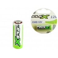 Pilha 12V 23A Alcalina / Bateria 23AE - FLEX