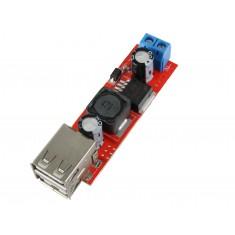 Regulador de Tensão 5V USB Dupla / Entrada 7 a 24VDC Conversor Step Down - KIS3R33S