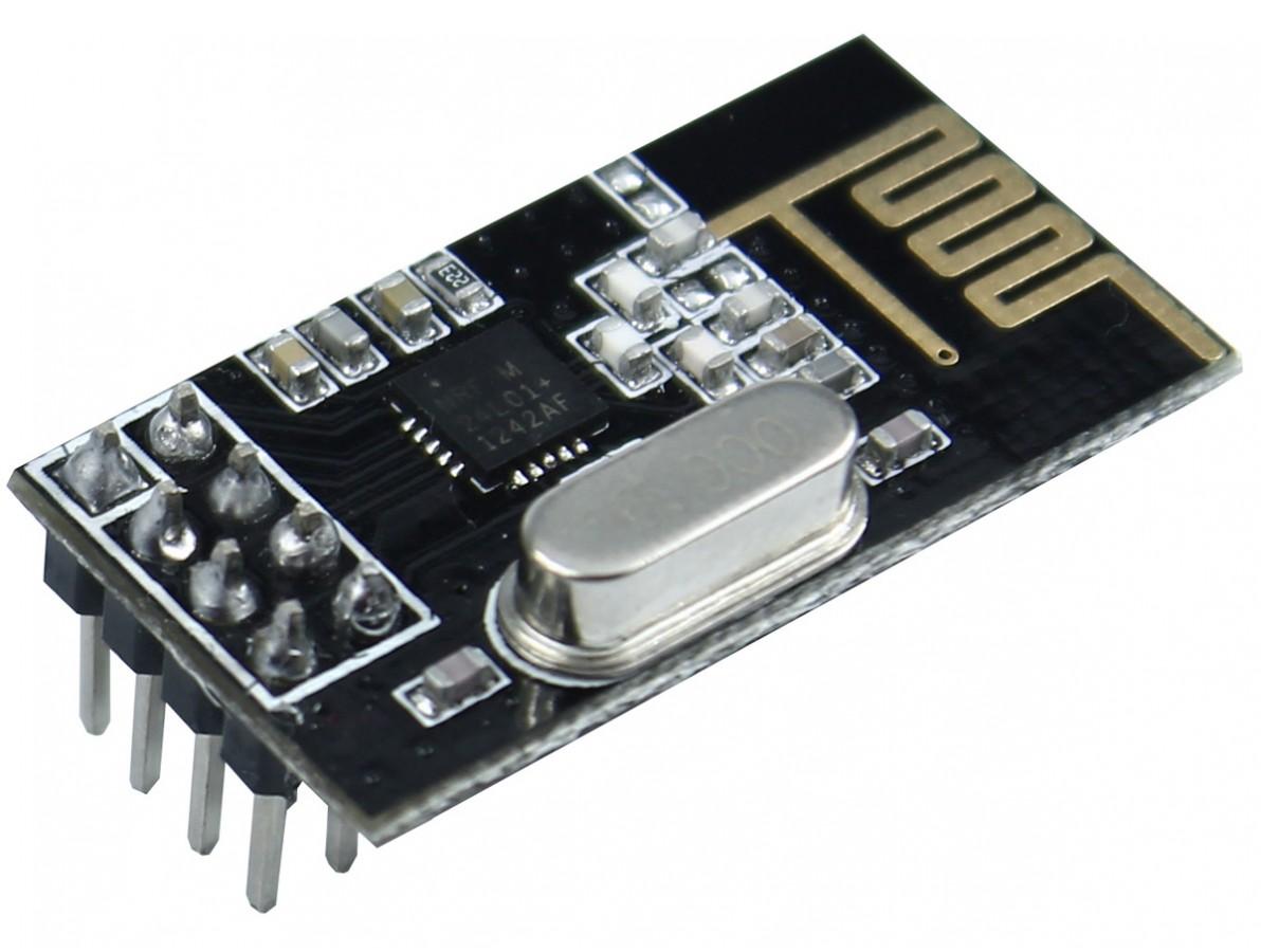 Módulo Transceptor Wireless 2.4GHz - NRF24L01