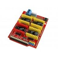 CNC Shield V3 Impressora 3D Arduino para 4 Drivers A4988