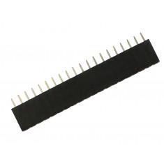 Barra de 20 Pinos 2,54mm fêmea / Conector Empilhável para PCI