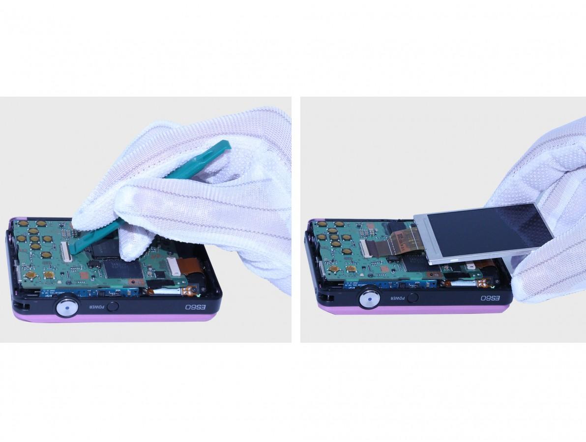 Chave plastica ideal para abrir travas de conectores de cabos flex - R217