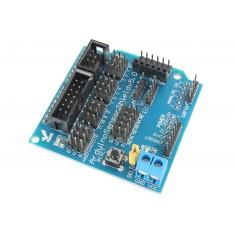 Arduino Sensor Shield - Expansor de Entradas e Saídas V5.0