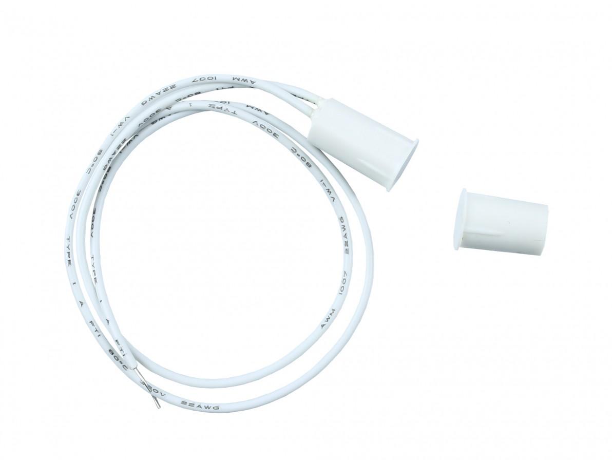 Sensor magnético de Embutir para Porta/janela com fio